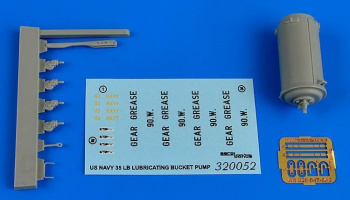 1/32 35Lb. lubricating bucket pump US NAVY