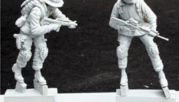 1/35 US NAVY Seals (2 fig.)