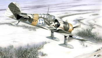 1/72 Fokker D.XXI 4.sarja Wing with Slots