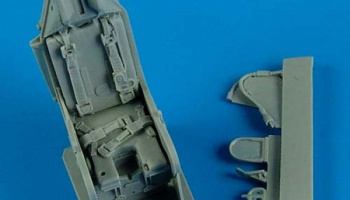 1/32 A-4 Skyhawk ejection seat with safety belts