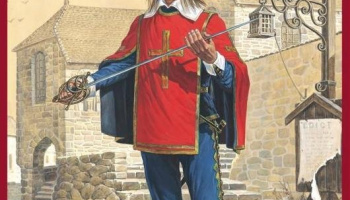1/16 French Guardsman. XVII c.