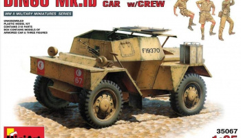 1/35 British Scout Car Dingo MK. 1b