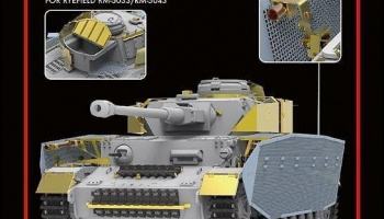 Panzer IV Ausf.J last prod. - upgrade solution 1/35 – Rye Field Model