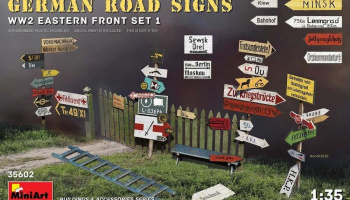 1/35 German Road Signs WW2 (Eastern Front Set 1)