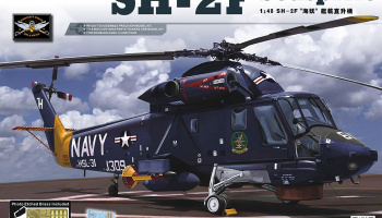 SH-2F Seasprite (1:48) - Kitty Hawk
