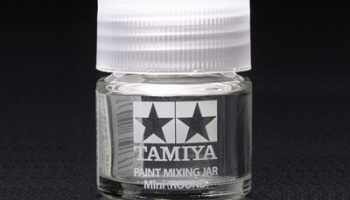 PAINT MIXING JAR MINI (ROUND) - Tamiya