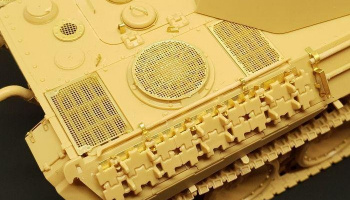1/48 Panther Ausf. D GRILLS (TAMIYA) PE set for Tamiya