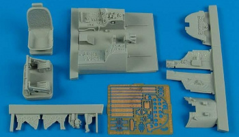 1/32 A-1H Skyraider cockpit set