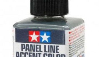 Panel Line Accent Color Dark Gray 40ml - Tamiya