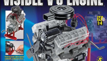 Visible V-8 Engine (1:4) Plastic Model Kit 8883 - Revell