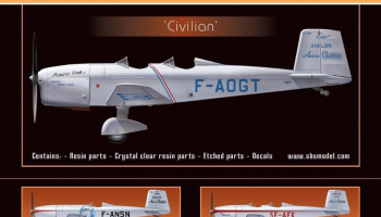 1/72 Caudron 600 'Civilian' - Resin+PE+decal - Full resin kit