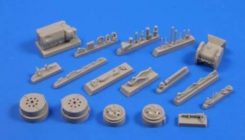 1/35 Panther Transmission set for TAM/Drag