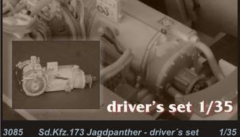 1/35 Sd.Kfz.173 Jagdpanther-driver set for Drag.