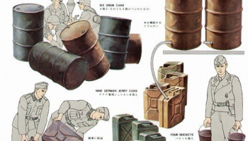 Jerry Can Set - Military Miniatures (1:35) - Tamiya