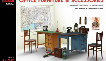 1/35 Office Furniture & Accessories