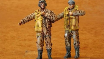 1/48 German Bomber Pilots WW II (Battle of Britain