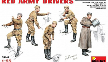 1/35 Red Army Drivers