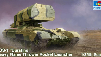 Russian TOS-1 Multiple Rocket Launch 1/35 - Trumpeter