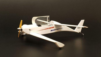 1/48 Rutan Quickie resin construction kit of plane