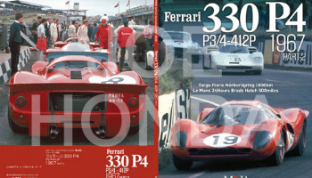 Sportscar Spectacles by HIRO No.02 : Ferrari 330P4 P3/4-412P 1967 PART-2