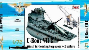 1/72 U-Boot VII Winch for loading torpedoes for RE