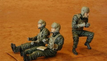 1/35 U.S. Army (UH-60 pilots + door gunner) (3 fig