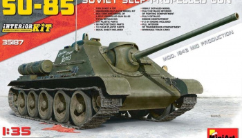 1/35 SU-85 Mod. 1943 (Mid Production) w/Full Interior
