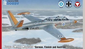 1/72 Fouga CM.170 Magister German, Finnish and Aus