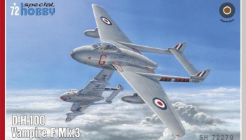 1/72 DH.100 Vampire Mk.3 (re-issue)