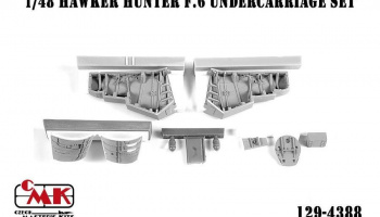 1/48 Hawker Hunter F.6 Undercarriage Set