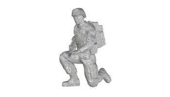 1/35 Kneeling Soldier (on left knee), US Army Infa