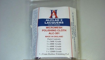 Micromesh Polishing Cloths - Alclad II