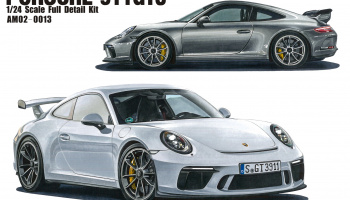 Porsche 911 GT3 1/24 Full Detail Kit - Alpha Model