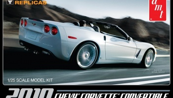 New Corvette Convertible 2010 - AMT
