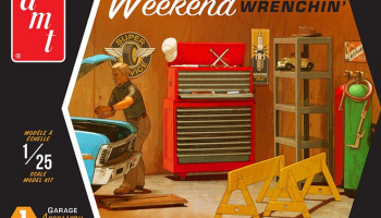 Weekend Wrenching Garage Accessory Set #1 - AMT