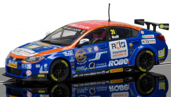 BTCC MG6 (1:32)Circuit SCALEXTRIC C3736