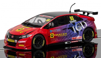 BTCC Honda Civic Type R, Jeff Smith (1:32) - Circuit SCALEXTRIC C3860