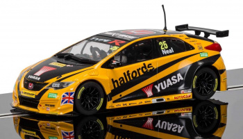 BTCC Honda Civic Type R, Matt Neal (1:32) - Circuit SCALEXTRIC C3861