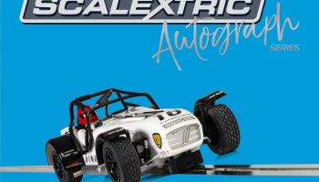 Autograph Series Caterham Superlight – David Robinson (1:32) Limited Edition SCALEXTRIC C3723AE