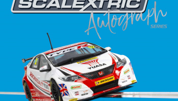 Autograph Series Honda Civic Type R - Gordon Shedden (1:32) Limited Edition SCALEXTRIC C3783AE