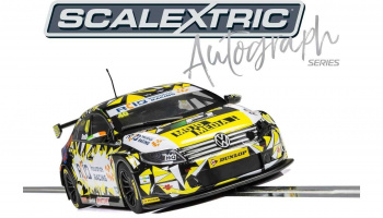 Autograph Series BTCC VW Passat Aron Smith (1:32) Limited Edition SCALEXTRIC C3864AE