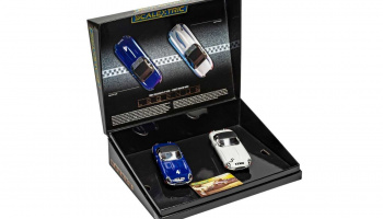 Autíčko Limited Edition SCALEXTRIC C4062A - Jaguar E-Type - First Win 1961 Twin Pack (1:32)