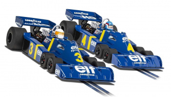 Autíčko Limited Edition SCALEXTRIC C4084A - Tyrrell P34 - Swedish GP 1976 Twin Pack (1:32)