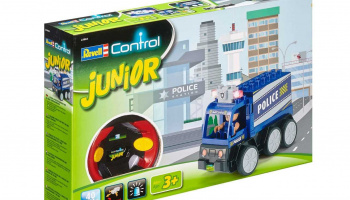 JUNIOR Autíčko REVELL 23004 - Police Car - 40 MHz