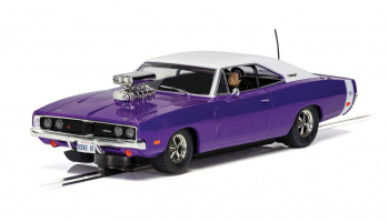 Autíčko Street SCALEXTRIC C4148 - Dodge Charger R/T - Purple (1:32)