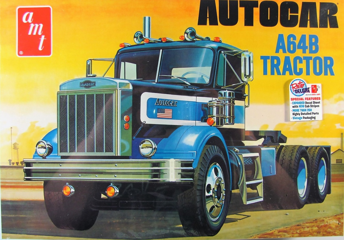 Autocar A64B Tractor Cab - AMT | Car-model-kit com