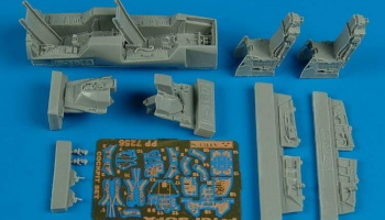 1/72 F-16I Sufa cockpit set