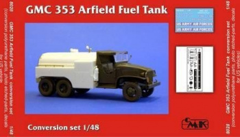 1/48 GMC 353 Airfield fuel tank conv. Set for TAM