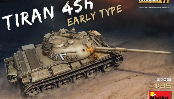 1/35 Tiran 4 Sh Early Type. Interior Kit