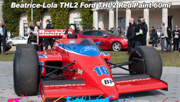 Beatrice-Lola THL2 Ford THL2 Red Paint - Zero Paints